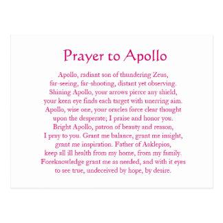 Postal de Apolo