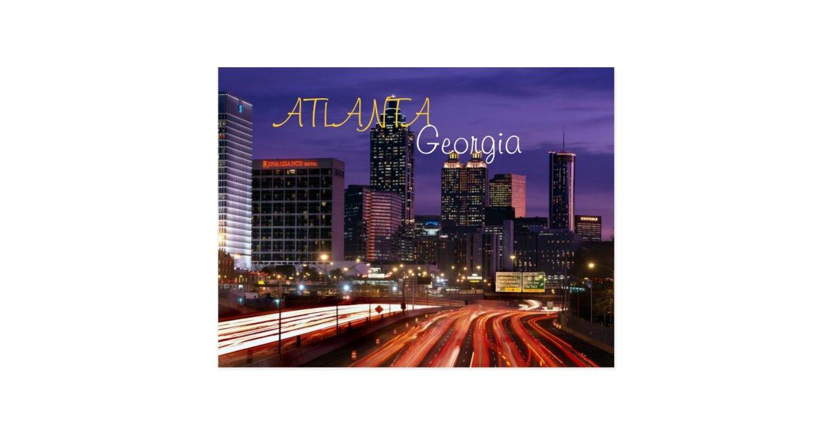Postal de Atlanta, Georgia | Zazzle.es