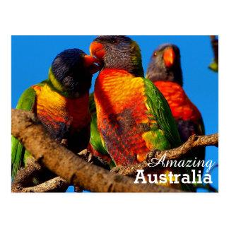 Postal de Australia que sorprende