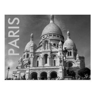 Postal de Basilique du Sacré-Cœur París Francia