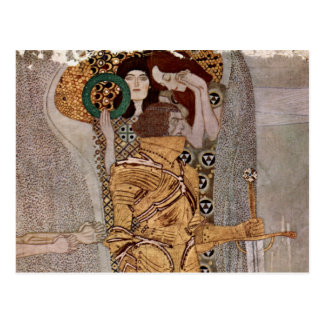 Postal de Beethovenfries del ~ de Gustavo Klimt