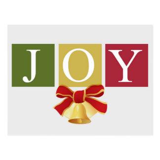 Postal de Bell de navidad de la alegría