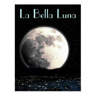 Postal de Bella Luna del La