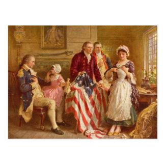 Postal de Betsy Ross