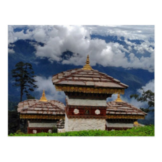 Postal de Bhután