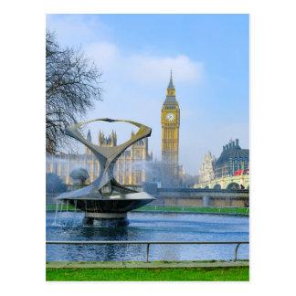 Postal de Big Ben Londres Westminster Reino Unido