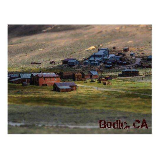 Postal de Bodie