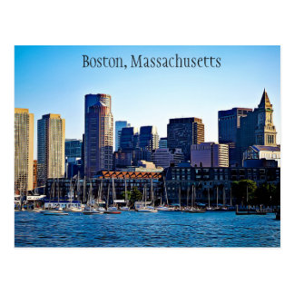 Postal de Boston, Massachusetts