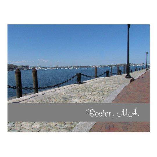 Postal de Boston, Massachusetts #2