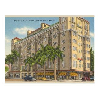 Postal de Bradenton la Florida del vintage