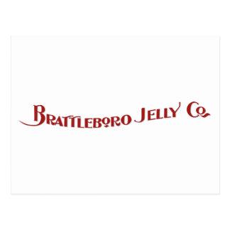 Postal de Brattleboro Jelly Company