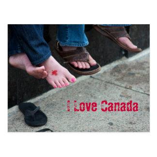 Postal de Canadá