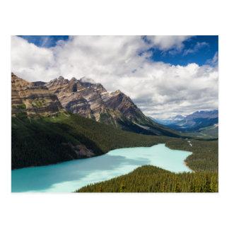 Postal de Canadá - del lago Peyto
