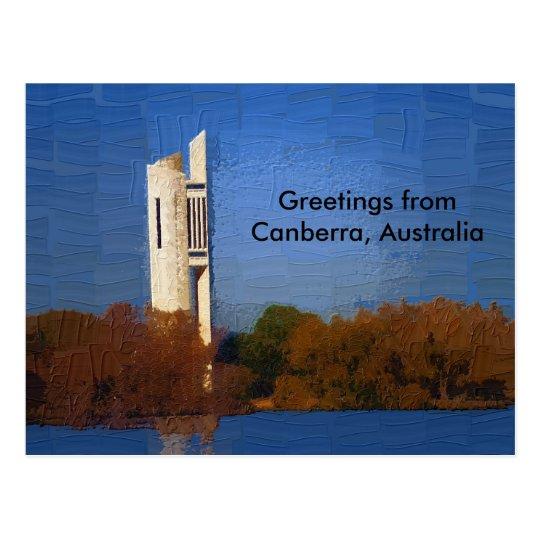 Postal de Canberra