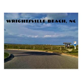 Postal de Carolina del Norte de la playa de