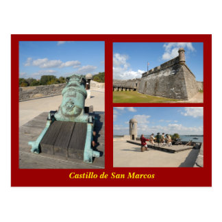 Postal de Castillo de San Marcos