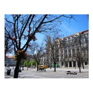 Postal de centro principal de Oporto