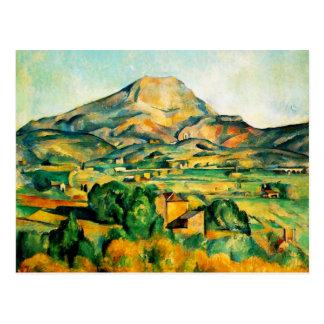 Postal de Cezanne Mont Sainte-Victoire