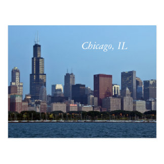 Postal de Chicago, IL