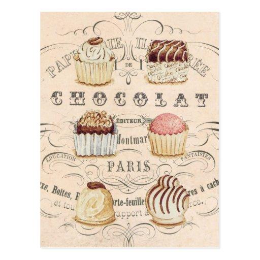Postal de Chocolat del vintage…