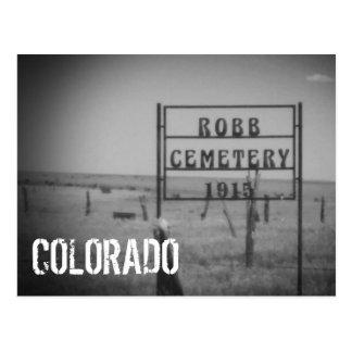 Postal de Colorado (cementerio)