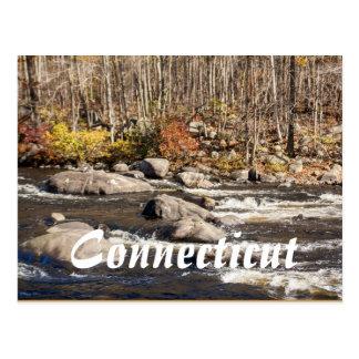 Postal de Connecticut Fall River