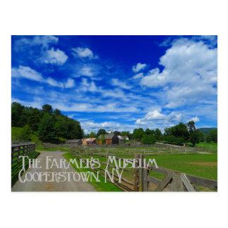 Postal de Cooperstown Nueva York del museo del