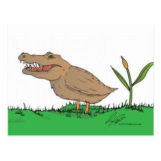 ¡Postal de Crocoduck en color!