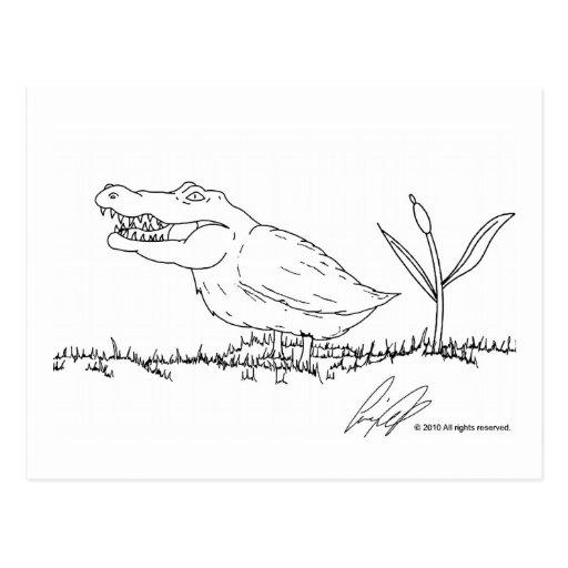 Postal de Crocoduck