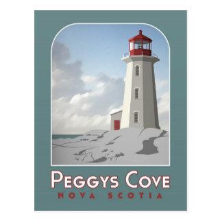 Postal de Deco de la ensenada de Peggy