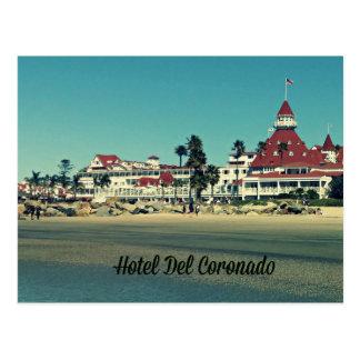 Postal de Del Coronado del hotel