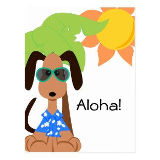 Postal de Deojee de la hawaiana