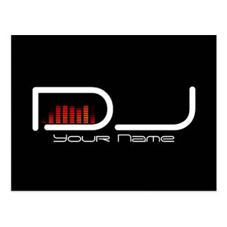 Postal de DJ