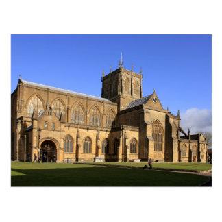 Postal de Dorset de la abadía de Sherborne