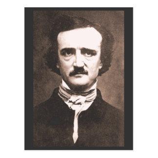 Postal de Edgar Alan Poe