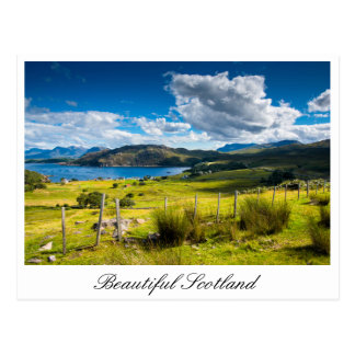 Postal de Escocia