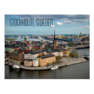 Postal de Estocolmo, Suecia