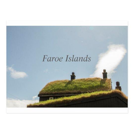 Postal de Faroe Island