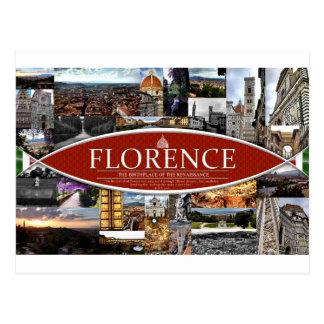 Postal de Florencia