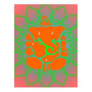 Postal de Ganesh