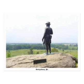 Postal de Gettysburg
