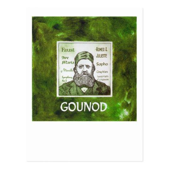 Postal de Gounod