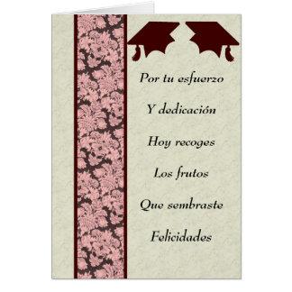 Postal de Graduacion Tarjeta De Felicitación