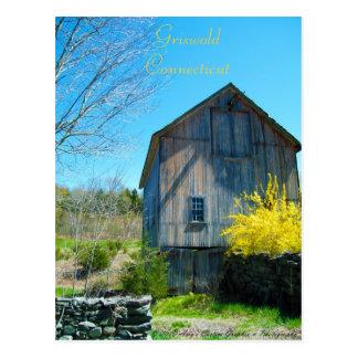 Postal de Griswold Connecticut