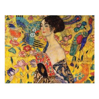 Postal de Gustavo Klimt
