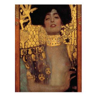 Postal de Gustavo Klimt Judith
