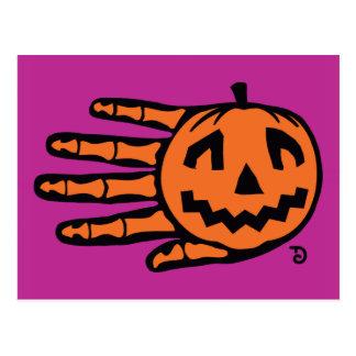 Postal de Halloween Jack