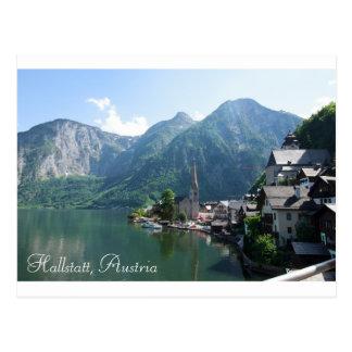 Postal de Hallstatt, Austria