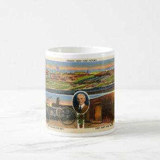 Postal de Henry Ford Taza De Café