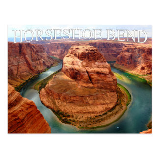 Postal de herradura de Arizona Glen Canyon de la